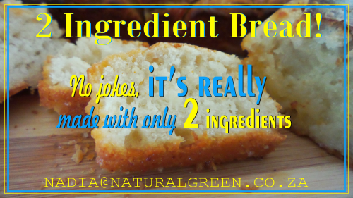 The AMAZING 2 Ingredient Bread!