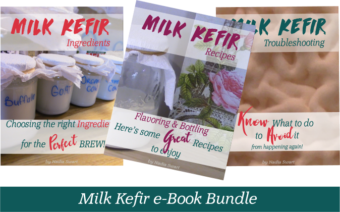 Milk kefir ebook bundle