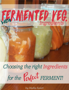 fermented veg ingredients