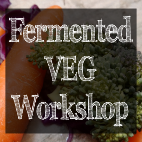 Fermented vegetable workshop