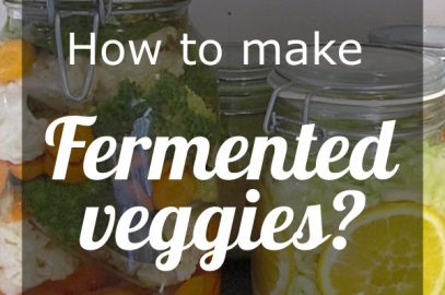 how to make cultured veggies