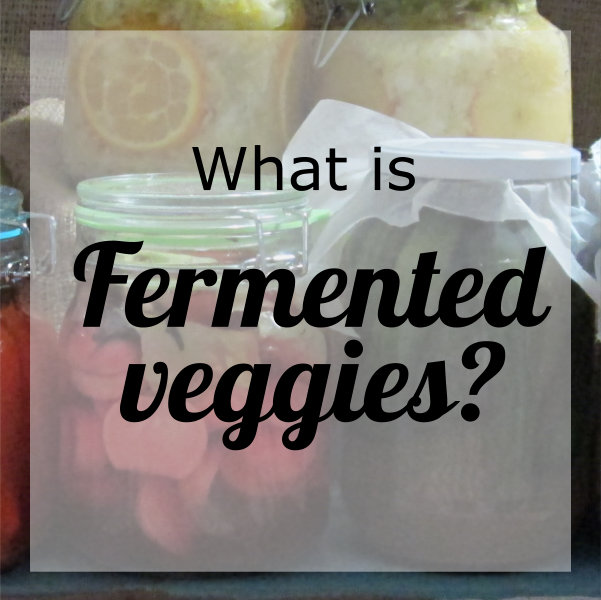 What is Cultured Veggies?