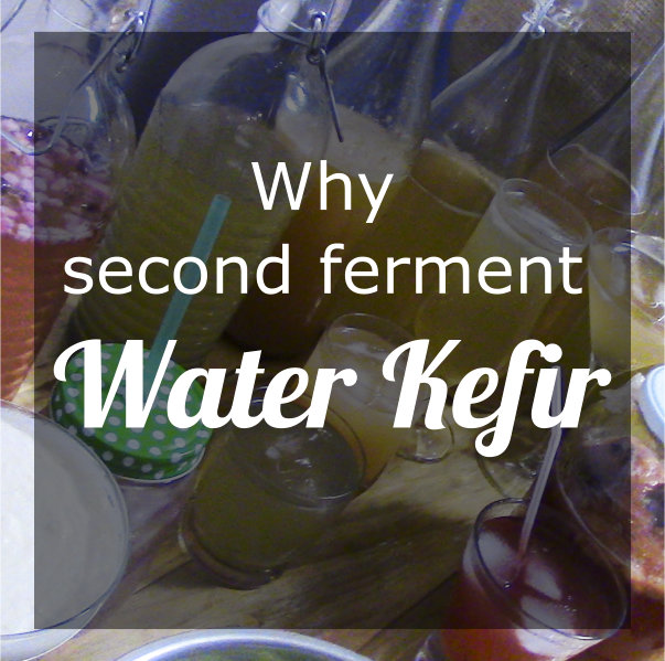 Second Fermenting Water Kefir