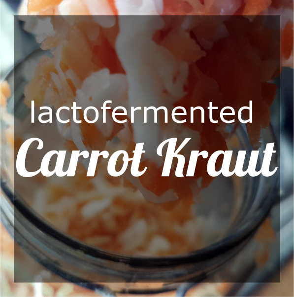 Spicy Carrot Kraut